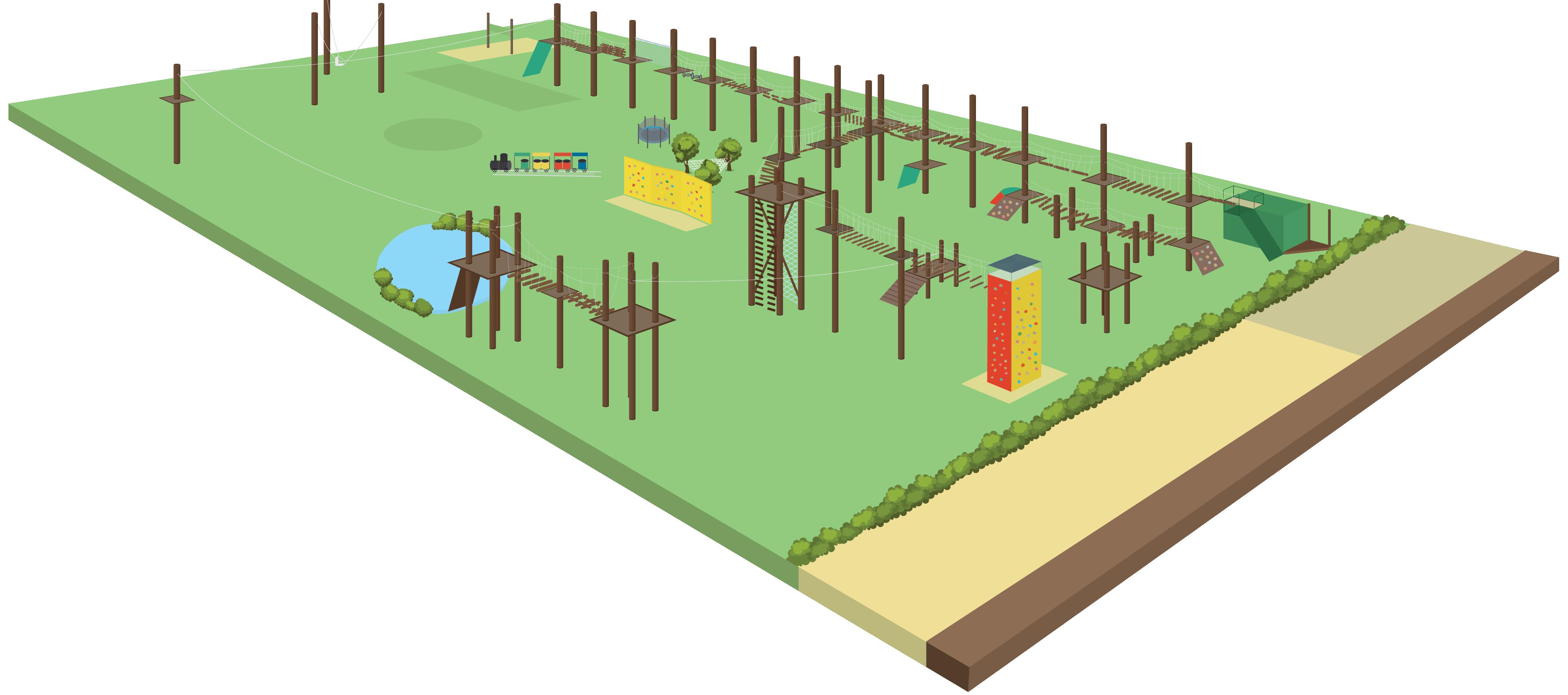 Circuito Juegos Para Niños : Juegos molino aventuras